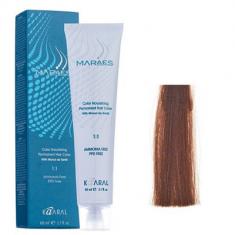 Крем-краситель стойкий без аммиака Kaaral Maraes Nourishing Permanent Hair Color 6.84 темный коричнево-медный блондин 60 мл