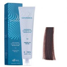 Крем-краситель стойкий без аммиака Kaaral Maraes Nourishing Permanent Hair Color 5.5 светлый махагоновый каштан 60 мл