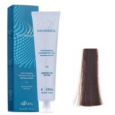 Крем-краситель стойкий без аммиака Kaaral Maraes Nourishing Permanent Hair Color 4.85 коричневый махагон 60 мл
