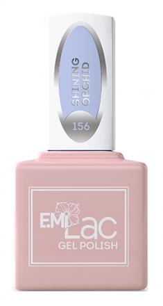 E.MI 156 WEC гель-лак для ногтей, Сияющая орхидея / E.MiLac 9 мл