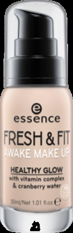 Тональная основа Essence Fresh & fit awake make-up 10 слоновая кость