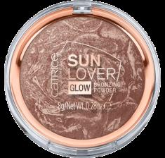 Компактная пудра бронзирующая Sun Lover Glow Bronzing Powder Сatrice 010 с эффектом загара CATRICE
